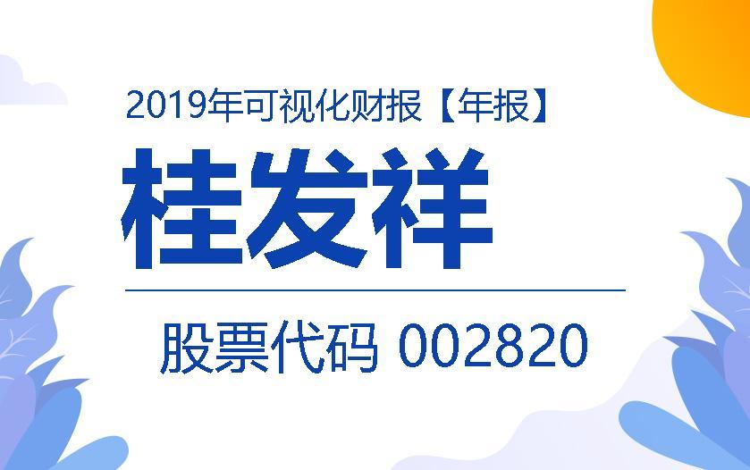 一圖讀財報:桂發祥2019年度實現營收5.07億元
