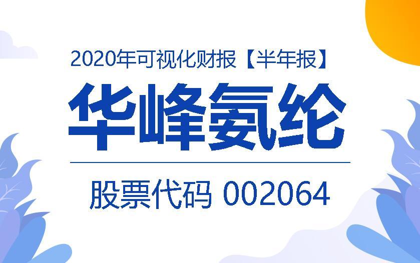 一图读财报:华峰氨纶2020年上半年实现营收60.98亿元