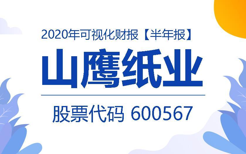 一图读财报:山鹰纸业2020年上半年实现营收98.26亿元